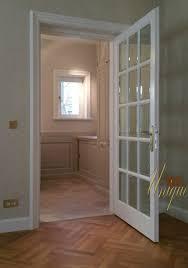 usi interior lemn albe pentru spatii