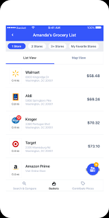 Food Budget App Basket Smart Grocery Shopping List App Compare Grocery Prices
