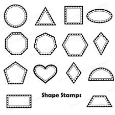 Stamps Template Postage Stamps Clip Art Bundle Blank Templates And Overlays