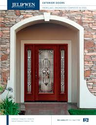 Custom Wood Contemporary Interior  Exterior Doors JELDWEN - Custom wood exterior doors