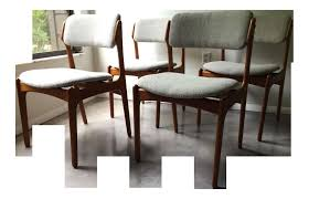 dining room table and chairs nice vine erik buck o d mobler danish dining chairs set
