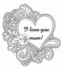 I Love You Mother Mothers Day