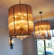 bronze rock crystal and mesh chandelier in the oaks for keyshawn3 1 2016 034 details by architectural detail group iron and lighting