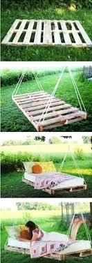 pallet swing bed pallet hammock swing pallet bed swings pallet bed bed diy pallet swing bed