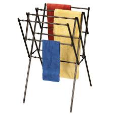 ... Rack, Expandable Antique Bronze Outdoor Clothes Drying Rack Design:  Mesmerizing Clothes Drying Rack Ideas ...
