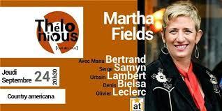 Martha Fields band, Thélonious Café Jazz Club, Bordeaux, September 24 2020  | AllEvents.in