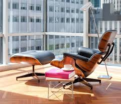 Herman Miller Eames Lounge Chair & Ottoman Reproduction eames