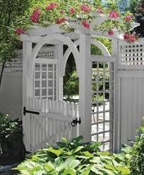 Small Picture arbor gates Garden Gate Pergola Fine Homebuilding Decks