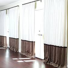 drapes for sale. White Linen Drapes With Sand Border And Velvet Ribbon Detail Curtains Sale For