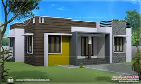 Brilliant Single Story Modern Home Design Floor House Designs Plans With One And For Perfect