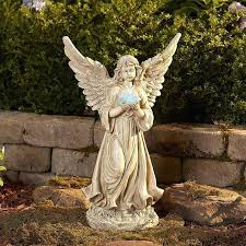 solar angel garden lights solar angel lights color changing solar powered