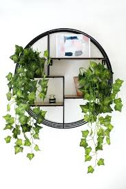 plant wall decor artificial