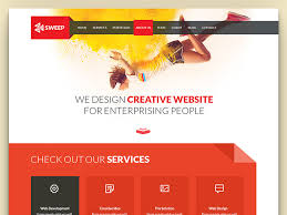 Website Template Amazing Sweep HTML28 CSS28 Flat Free Business Website Template UiCookies