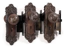 antique door hardware. SOLD Three Complete Antique Door Hardware Sets, \u201cMonaco\u201d By Yale \u0026 Towne,