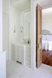 bathroom with bi fold doors