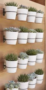 wall mounted planters design decoration