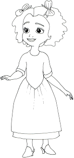 Small Picture Princess Sofia Coloring Pages Coloring Book of Coloring Page