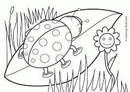 Spring Coloring Pages For Prek Printable Coloring Page For Kids