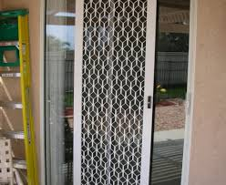 door ideal sliding screen falls off track stylish