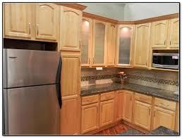 Maple Finish Kitchen Cabinets Natural Finish Maple Kitchen Cabinets Cabinet Home Decorating