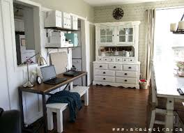 office in dining room. Add A Desk To Make Home Office In The Dining Room
