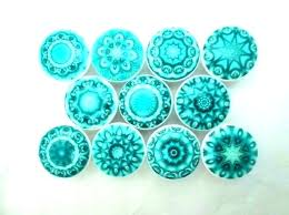 cobalt blue glass cabinet hardware knobs mushroom knob series colored ceramic drawer pulls violet handmade and aqua blue glass bubble cabinet knobs