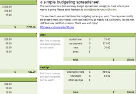 budget sheet template 10 free household budget spreadsheets for 2018