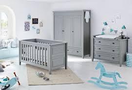 Cloud 3 Piece Grey Nursery Furniture Set