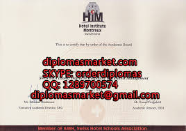 hotel institute montreux buy a degree fake diploma