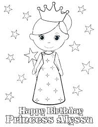 Birthday Coloring Pages Printable Happy Birthday Coloring Pictures