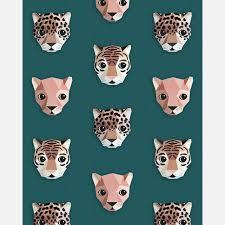 Studio Ditte Behang Panthera Groen Mevrouw Aardbei