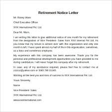 30 days notice letter example thirty day notice letter