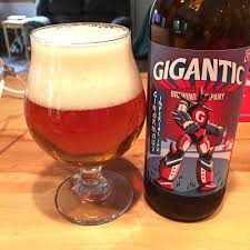gigantic brewings ginormus imperial ipa the 88th beer to be produced by the eccentric little brewery ginormus poured a deep clear copper color with a amager bryghus lighting set