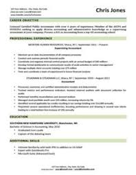 Resume Templates For Download