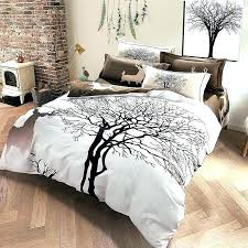 tree branch bedding set duvet sets tree branch duvet covers grey color tree deer king queen tree branch bedding