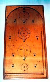 Wooden Game Plans Bagatelle Board Game Plan Downloadable 100