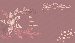 Gift Certificates Samples Amazing 44 Elegant Printable Massage Gift Certificate Template Template Free
