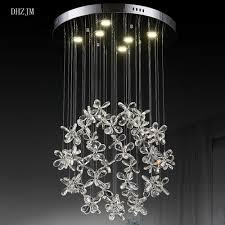 Us 6550 Led Schmetterling Kristall Kronleuchter Blütenblätter Kunst Kristall Lampe Pendelleuchte Lampe Haus Esszimmer Art Deco Kronleuchter In