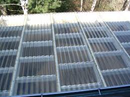 clear corrugated plastic home depot