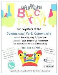 Block Party Flyer Block Party Invitation Template Zoli Koze