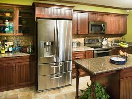 Kitchen Cabinets Refrigerator Kitchen Cabinets Around Refrigerator Monsterlune