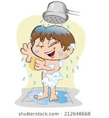 take a shower clipart. Perfect Take Illustration Representing A Child Taking Care Of Personal Hygiene  Bath On Take A Shower Clipart G