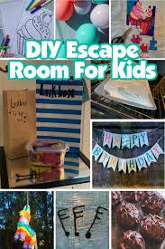 diy escape room for kids birthday