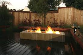 gas fire pit on wood deck gas fire pit on wood deck fresh concrete fire pit