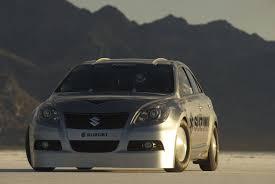Modified Suzuki Kizashi Breaks Land Speed Record News - Top Speed