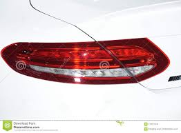 Car Body Lights Parts Of The New Car Stock Photo Image Of Light Fast