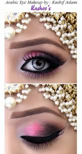 arabic eye makeup done by kashif aslam by kashee s beauty parlour
