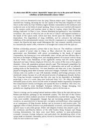 spanish conquest native culture essay oxbridge notes the united  chinese rebellions essay