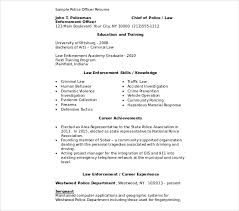 Police Officer Resume Best 28 Police Officer Resume Templates PDF DOC Free Premium Templates