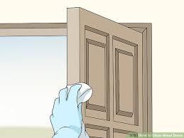 image titled clean wood doors step 3